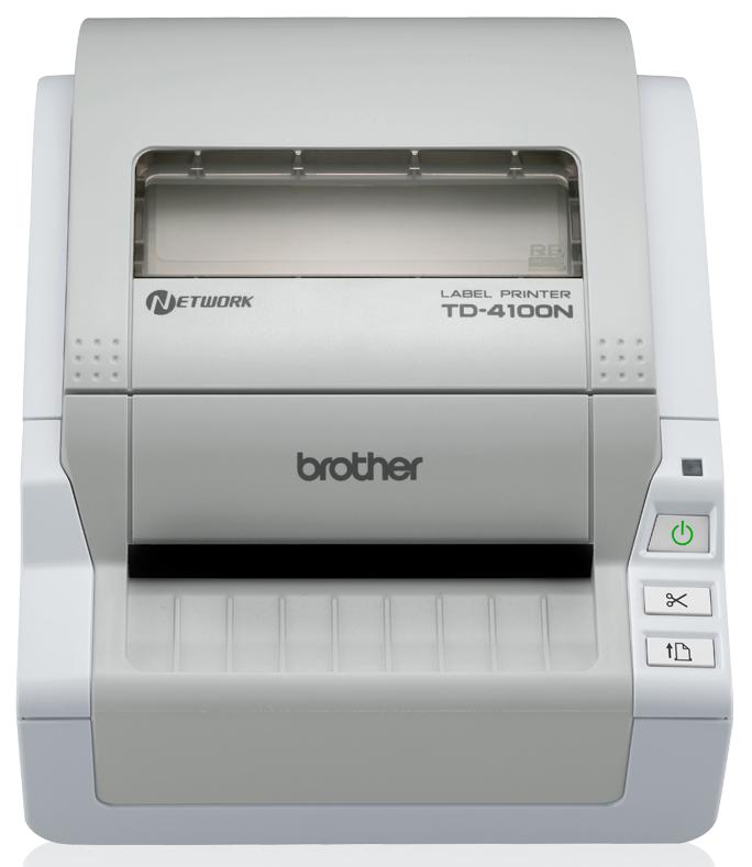 Brother TD-4100N label etiketten