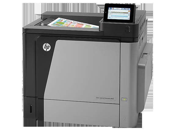 HP Color Laserjet Enterprise M651DN toner cartridge