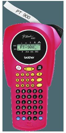 Brother PT-900 label lettertape
