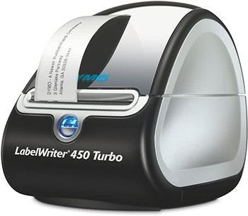 Dymo LabelWriter 450 Turbo labels