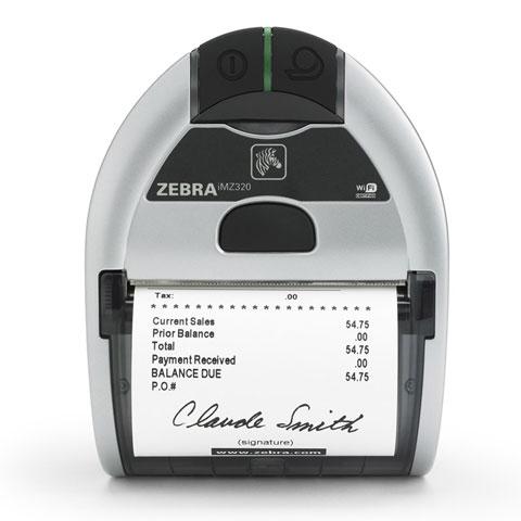 Zebra iMZ320 label etiketten