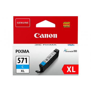 Canon CLI-571C XL cartridge Cyaan - Origineel (11ML)