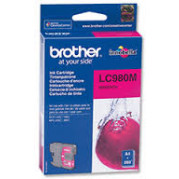 Brother LC-980M inkt cartridge Magenta (4,8ML) - Origineel