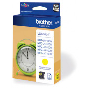 Brother LC-125Y inkt cartridge Geel (13,1ML) - Origineel