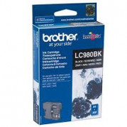 Brother LC-980BK inkt cartridge Zwart (8.7ML) - Origineel