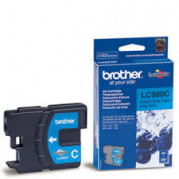 Brother LC-980C inkt cartridge Cyaan (4,8ML) - Origineel