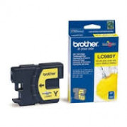 Brother LC-980Y inkt cartridge Geel (4,8ML) - Origineel