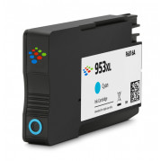 Huismerk voor HP F6U16AE inkt cartridge Cyaan (953XL) 20 ML