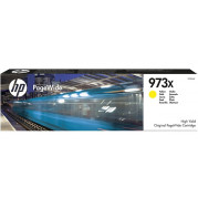 HP 973X / F6T83AE inkt cartridge Geel - Origineel (86ML)
