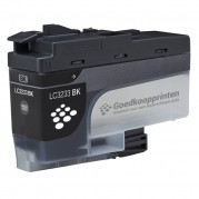 Brother LC-3233BK inkt cartridge Zwart (65ml) - Huismerk