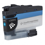 Brother LC-3233C inkt cartridge Cyaan (16ml) - Huismerk