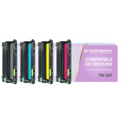 Brother TN-243 / TN-247 toner cartridge Multipack - Huismerk