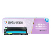 Brother TN-243 / TN-247 toner cartridge Cyaan - Huismerk