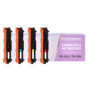 Brother TN-242 toner / Brother TN-246 toner Multipack - Huismerk set