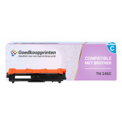 Brother TN-246C toner cartridge / Brother TN-242C toner Cyaan (2.200 afdrukken) - Huismerk