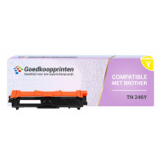 Brother TN-246Y toner cartridge / Brother TN-242Y toner Geel (2.200 afdrukken) - Huismerk