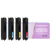 Brother TN-321 toner Multipack - Huismerk