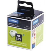 Originele Dymo 99010 Label Etiket S0722370 89mm x 28mm (2 rollen)