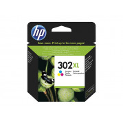 HP 302XL cartridge Kleur (F6U67AE) 8ML - Origineel