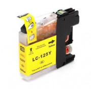 Brother LC-125Y inkt cartridge Geel (15 ML) - Huismerk