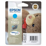 Epson T0612 inkt cartridge (T06124010) Cyaan (8ML) - Origineel