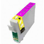 Epson T0713 Magenta inkt cartridge (12ML) - Huismerk