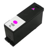 Lexmark 100XL inkt cartridge Magenta (12ml) - Huismerk