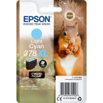 Epson T3785 inkt cartridge Licht-cyaan (378XL) 9,3ML - Origineel